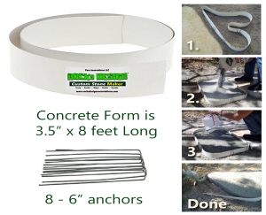 ROCKA DESIGN™ Custom Stone Maker for DIY Gardeners and Contractors.  Easily create custom concrete stepping stones for walkways, paths and patios.